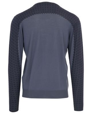 Print fine wool round neck jumper ETRO