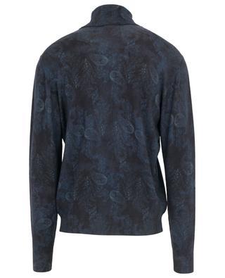 Paisley print wool turtle neck jumper ETRO