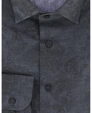 Hemd aus Baumwolle mit Paisley-Print ETRO