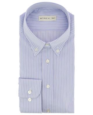 Hemd mit zweifarbigen Streifen ETRO