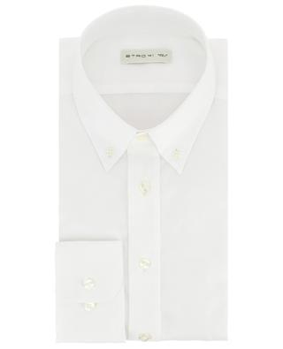 Chemise en coton texturé à col boutonné ETRO