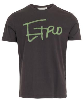 Print cotton T-shirt ETRO