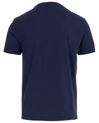 T-Shirt aus Baumwolle mit Mond und Drachen ETRO