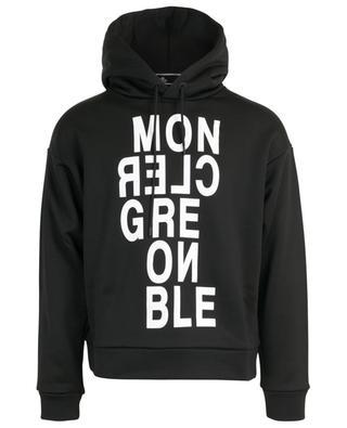 Sweatshirt aus Baumwollmix mit Kapuze MONCLER