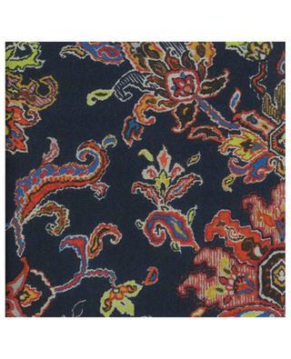 Oriental carpet design lightweight scarf ETRO