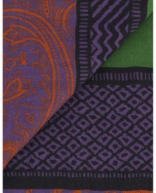 Écharpe légère motifs géométriques Shaal-Nur ETRO