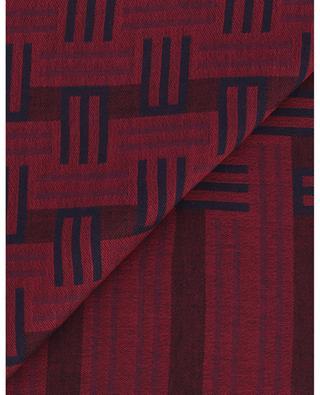 Monogrammed lightweight scarf ETRO