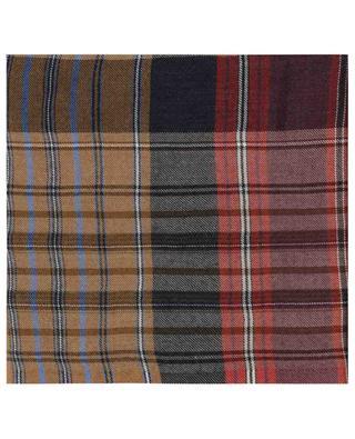 Multicolour tartan lightweight scarf ETRO