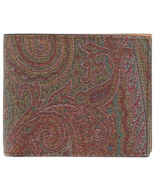 Portefeuille imprimé en cuir Paisley ETRO