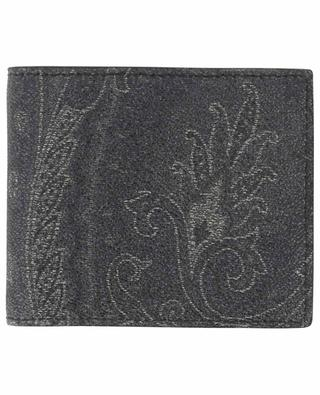 Paisley printed leather wallet ETRO
