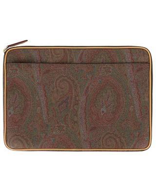 Laptoptasche mit Reissverschluss und Paisley-Print ETRO