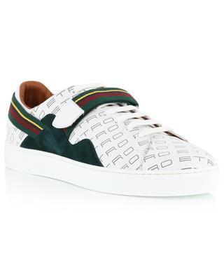 Sneakers aus Leder mit Logo ETRO