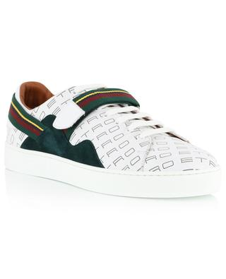 Logo adorned leather sneakers ETRO