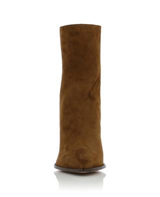 Saint Honore' 70 suede ankle boots AQUAZZURA