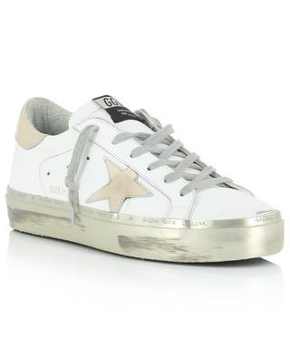 Plateau-Sneakers mit goldenem Leder Hi Star GOLDEN GOOSE