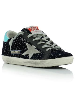 Baskets en velours Superstar Glitter Rain GOLDEN GOOSE