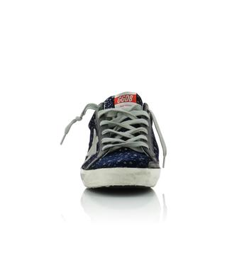 Sneakers aus Samt Superstar Glitter Rain GOLDEN GOOSE
