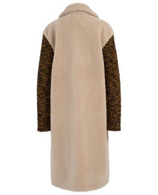 Faux shearling coat M MISSONI