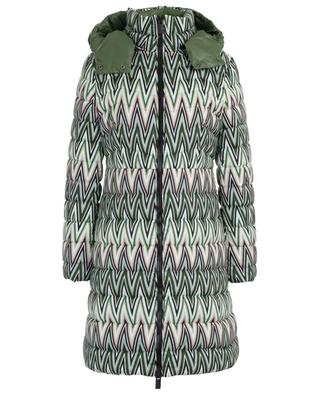 Zigzag mid-length down jacket M MISSONI