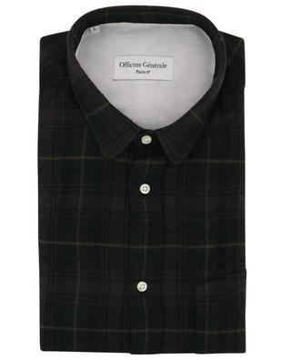 Kariertes Hemd aus japanischer Baumwolle Lipp OFFICINE GENERALE