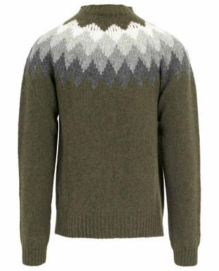 Shetland-Pullover mit Rautenmuster Seamless OFFICINE GENERALE