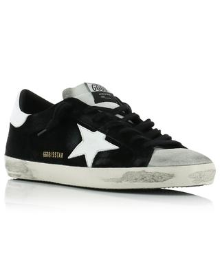 Schwarz-graue Wildledersneakers Superstar GOLDEN GOOSE