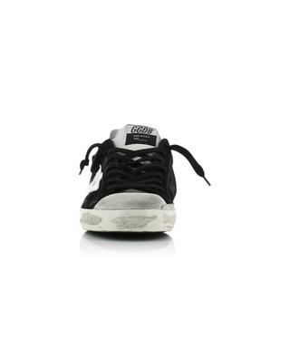 Superstar black and grey distressed sneakers GOLDEN GOOSE