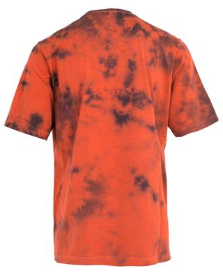 Tie-and-Dye-T-Shirt mit Runenlogo Slouch Fit DSQUARED2