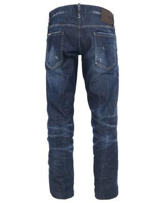 Distressed slim jeans with rips DSQUARED2