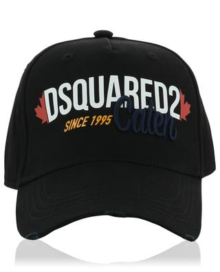 Since 1995 Caten embroidered and printed distressed cap DSQUARED2