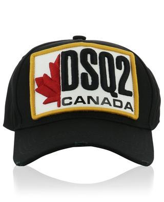 DSQ2 Patch distressed baseball cap DSQUARED2