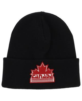 Bonnet double épaisseur Canada Patch DSQUARED2