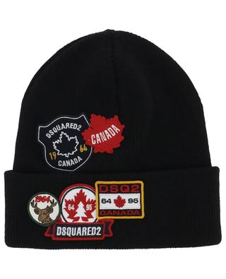 Multipatch double layer beanie DSQUARED2