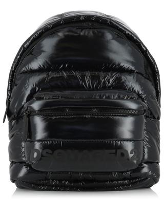 Patent Mountain Ski quilted backpacj DSQUARED2