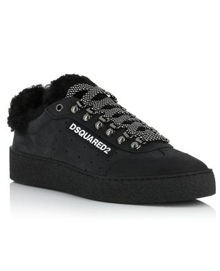 Gefütterte Sneakers aus Nubuk Ted DSQUARED2