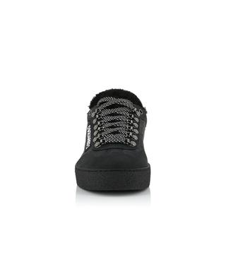 Ted nubuk fur-lined sneakers DSQUARED2