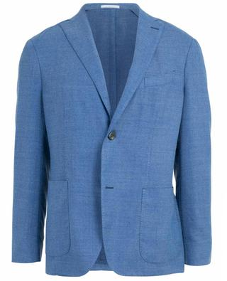 Textured virgin wool blend blazer BOGLIOLI
