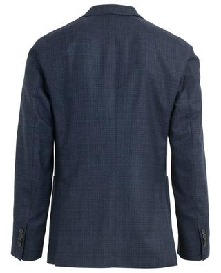 Virgin wool check blazer BOGLIOLI