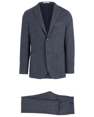 Melierter Anzug aus Baumwoll- und Schurwollmix BOGLIOLI
