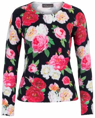 Rose print chenille jumper PRINCESS