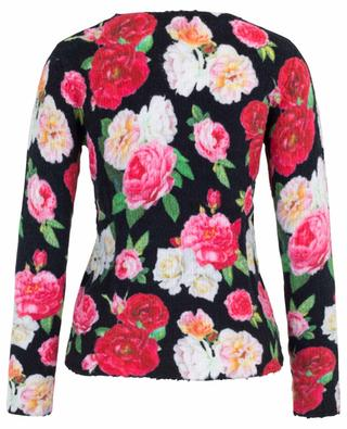 Rose print chenille jumper PRINCESS