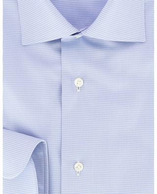 Houndstooth print cotton shirt BARBA
