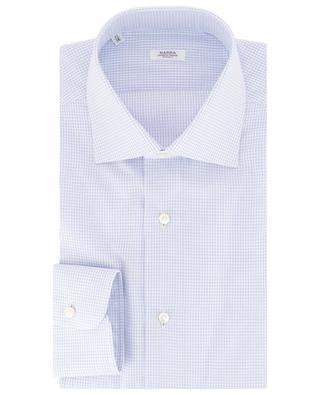 Chemise à carreaux en coton BARBA