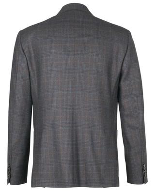 G Lar single-breasted wool blazer with glencheck pattern BARBA