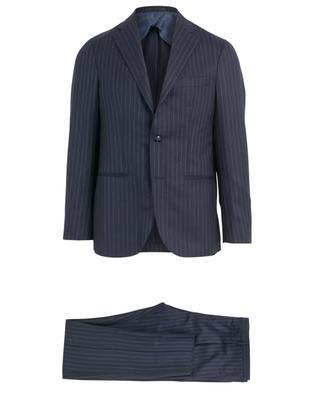 Jimmy virgin wool striped suit BARBA