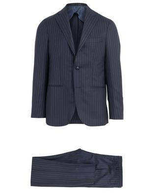 Jimmy virgin wool striped suit BARBA