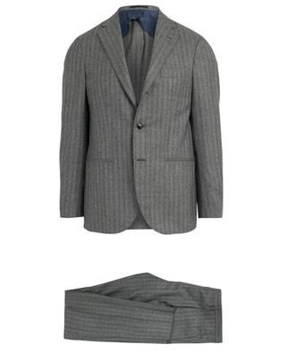 Jimmy striped virigin wool 3 piece suit BARBA