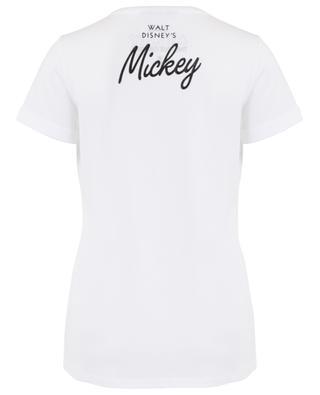 Mickey houndstooth print loose T-shirt PRINCESS
