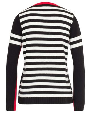 Cotton striped jumper with Mickey Mouse intarsia PRINCESS