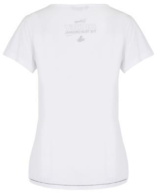 Mickey Mouse print cotton blend T-shirt PRINCESS